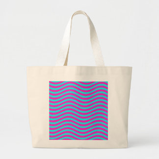 CATCH THE WAVE - PASTEL EGG ~~ LARGE TOTE BAG