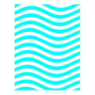 CATCH THE WAVE - PASTEL MINT ~ ~ POSTCARD