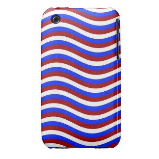 CATCH THE WAVE - PATRIOTIC ~ ~ Case-Mate iPhone 3 CASE