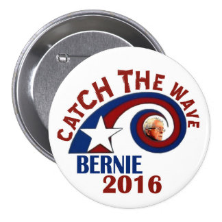 Catch the Wave! Pinback Button