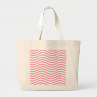 CATCH THE WAVE - PINK ~ ~ LARGE TOTE BAG