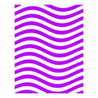 CATCH THE WAVE - PURPLE ~ ~ LETTERHEAD