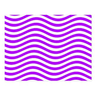 CATCH THE WAVE - PURPLE ~ ~ POSTCARD