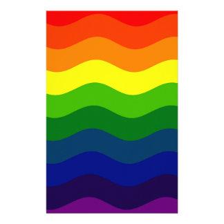 CATCH THE WAVE - RAINBOW (stripes) ~ Stationery