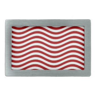 CATCH THE WAVE - RED ~ ~ BELT BUCKLE
