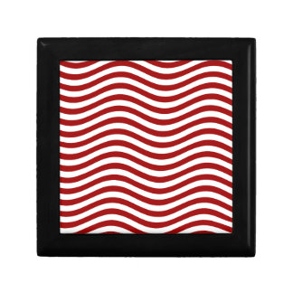 CATCH THE WAVE - RED ~ ~ JEWELRY BOX