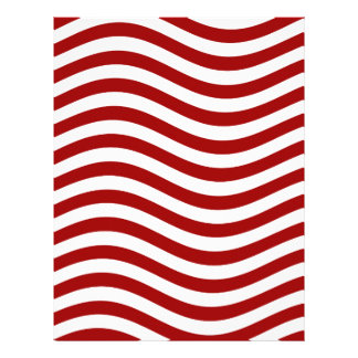 CATCH THE WAVE - RED ~ ~ LETTERHEAD