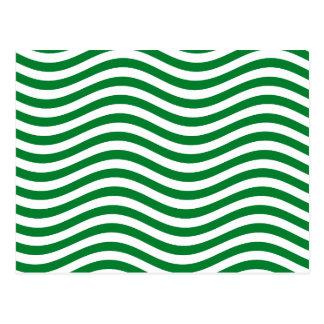 CATCH THE WAVE - SPEARMINT GREEN ~ ~ POSTCARD