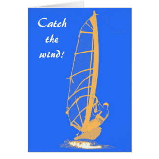 Catch the wind! card