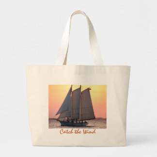 Catch the Wind Large Tote Bag