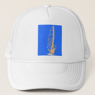 Catch the wind! trucker hat