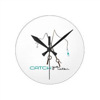 Catch Ya Later Wall Clocks
