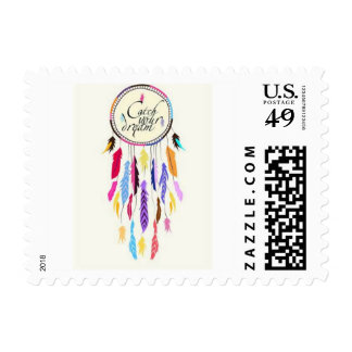 Catch Your Dreams Dreamcatcher Postage Stamps
