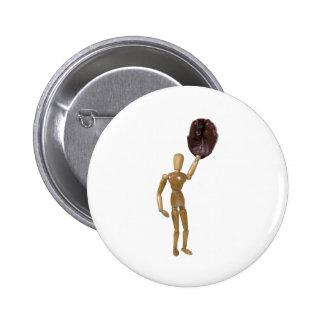 CatchBaseball112709 copy Pinback Button