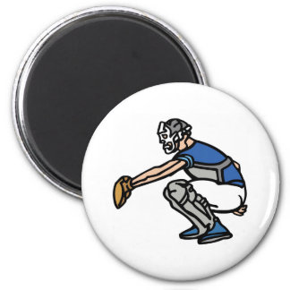 Catcher 2 Inch Round Magnet