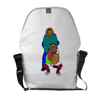 Catcher And Umpire Messenger Bag