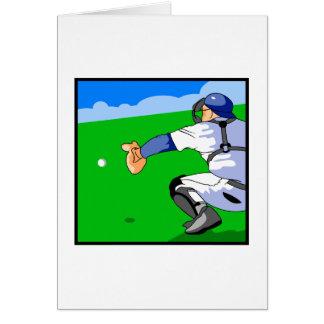Catcher Baseball Card