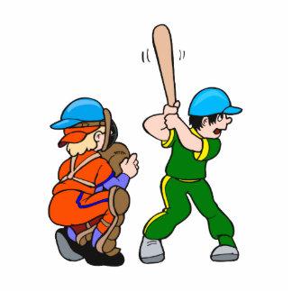 Catcher & Batter Statuette