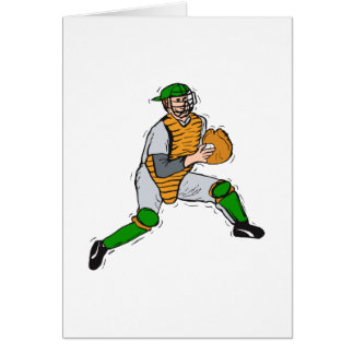 Catcher Greeting Cards