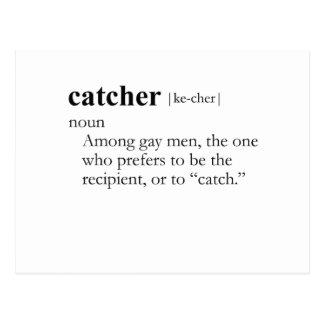 CATCHER (definition) Postcard