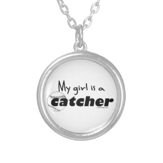 Catcher (Girl) Silver Plated Necklace