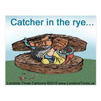Catcher In Rye Bread Funny Tees Mugs Cards & Gifts