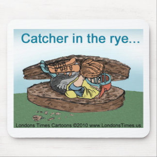 Catcher In Rye Bread Funny Tees Mugs Cards & Gifts Mouse Pad