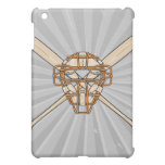 catchers mask and bats baseball icon case for the iPad mini