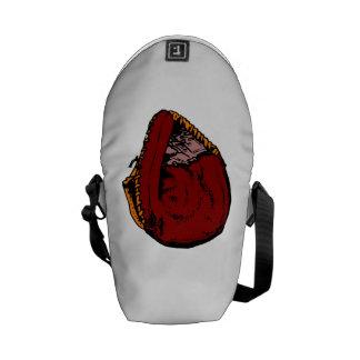 Catcher's Mitt Messenger Bags