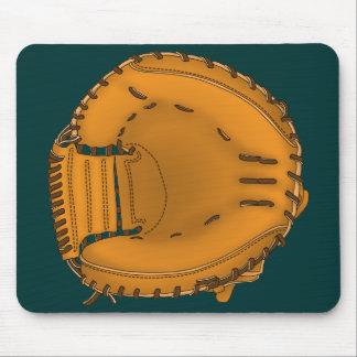 catcher's mitt mouse pad