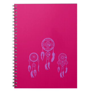 Catches dreams spiral notebook