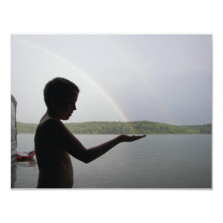 Catching A Rainbow Card