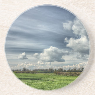 Catching Clouds (color HDR) Drink Coaster