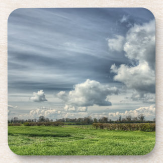 Catching Clouds (color HDR) Drink Coasters