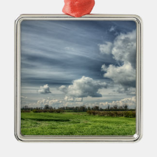 Catching Clouds (color HDR) Metal Ornament
