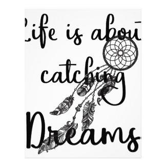 Catching Dreams Letterhead