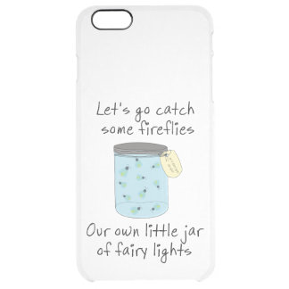 Catching Fireflies Clear iPhone 6 Plus Case