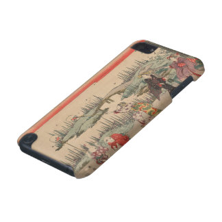 Catching Fireflies (colour woodcut) iPod Touch 5G Case