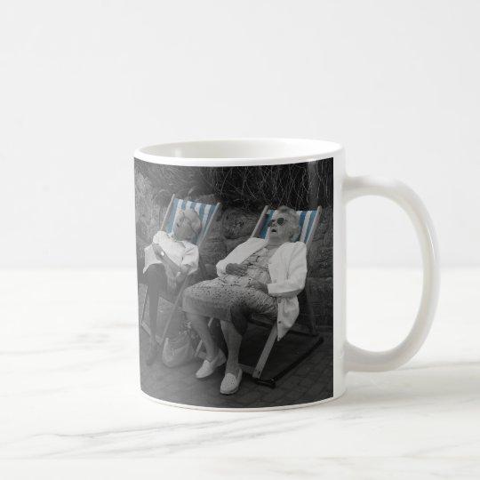 CATCHING FLIES COFFEE MUG