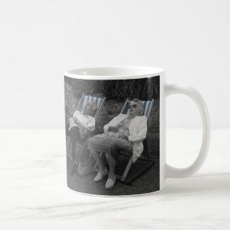 CATCHING FLIES COFFEE MUGS