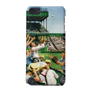 Catching Home Run Ball iPod Touch (5th Generation) Cases
