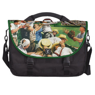 Catching Home Run Ball Bag For Laptop
