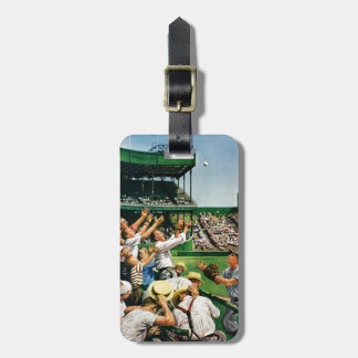 Catching Home Run Ball Tags For Luggage