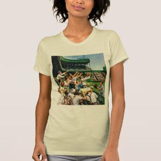 Catching Home Run Ball T-shirt