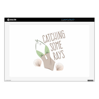Catching Rays Decal For Laptop