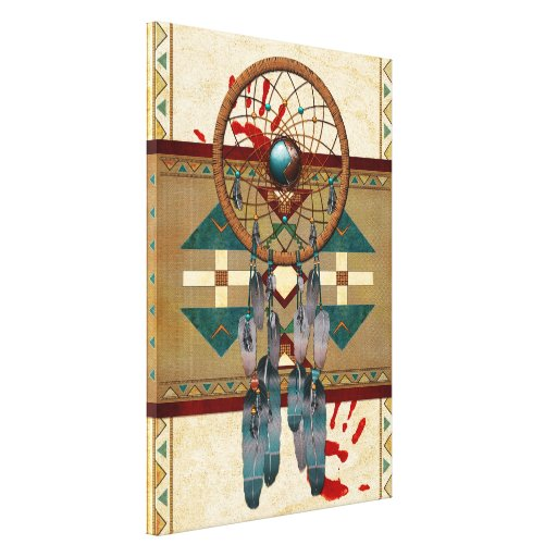 Catching Spirit Native American Gallery Wrapped Canvas