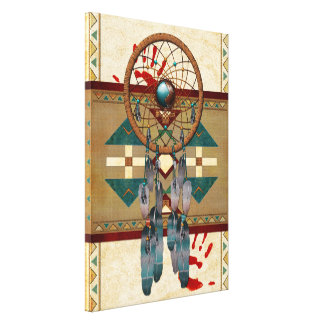 Catching Spirit Native American Canvas Print