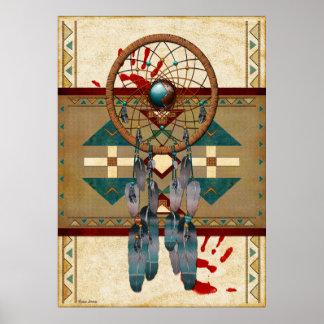 Catching Spirit Native American Poster