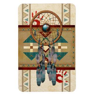 Catching Spirit Native American Vinyl Magnet