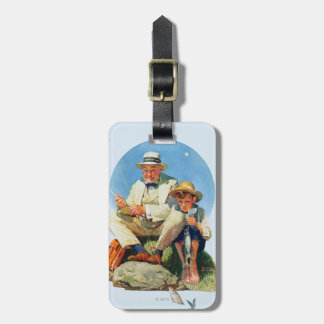 Catching the Big One Luggage Tag